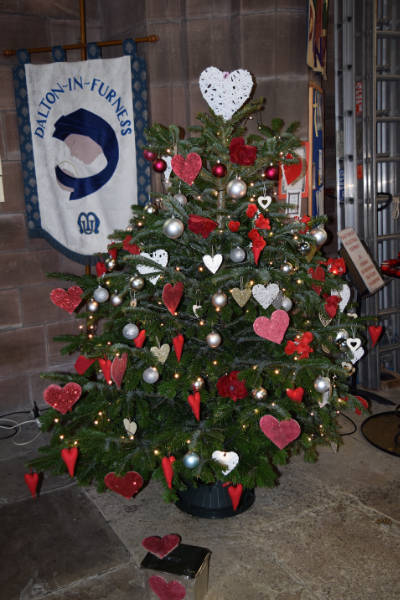 Dalton Parish Christmas tree festival 2017