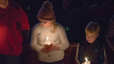 Christingle at St Peters